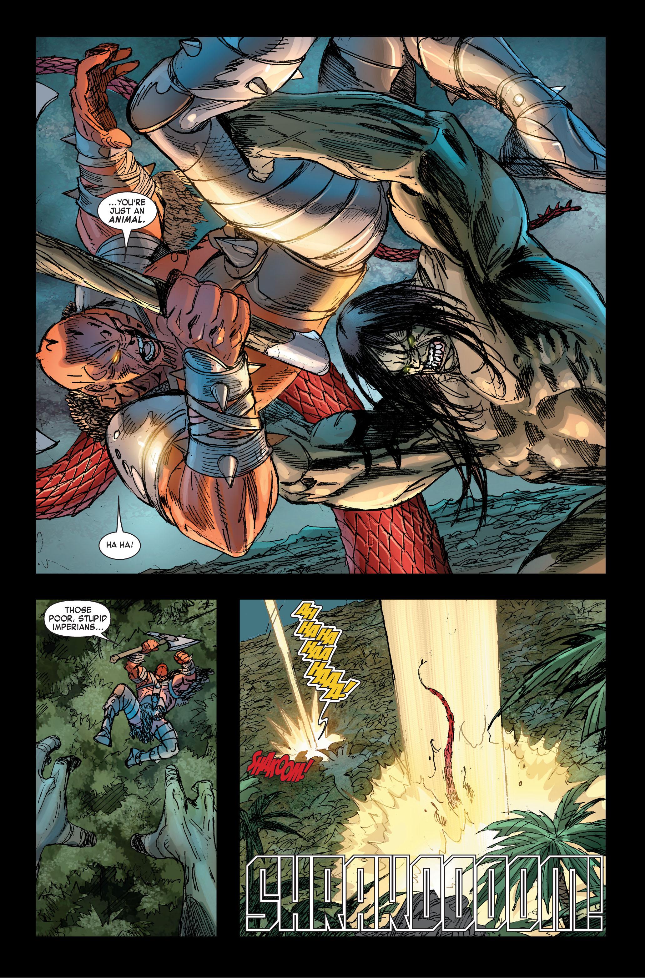 Read online Skaar: Son of Hulk comic -  Issue #2 - 13