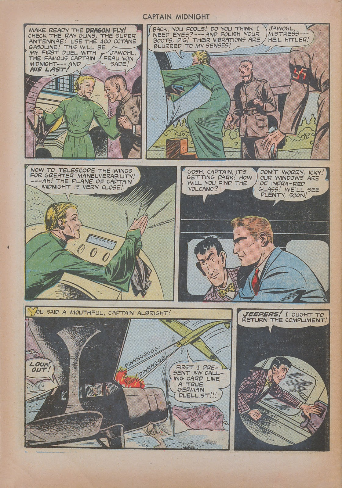 Captain Midnight (1942) issue 20 - Page 42