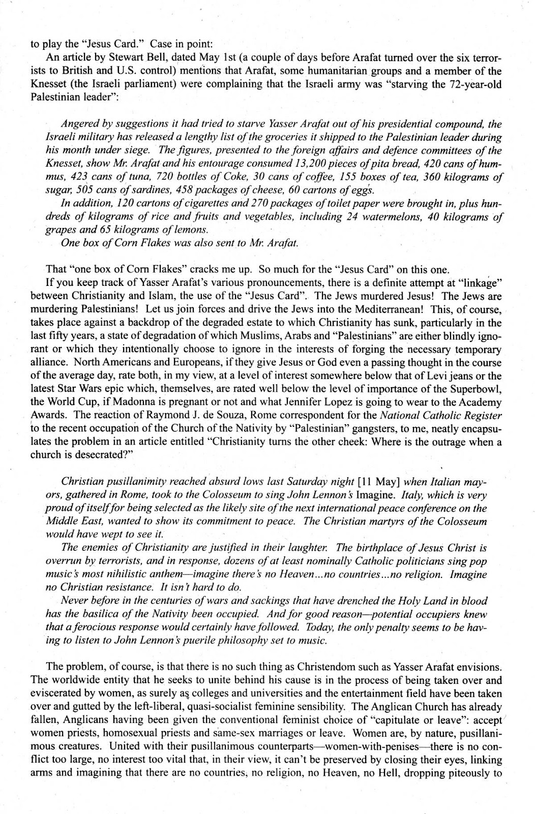 Cerebus Issue #281 #280 - English 24