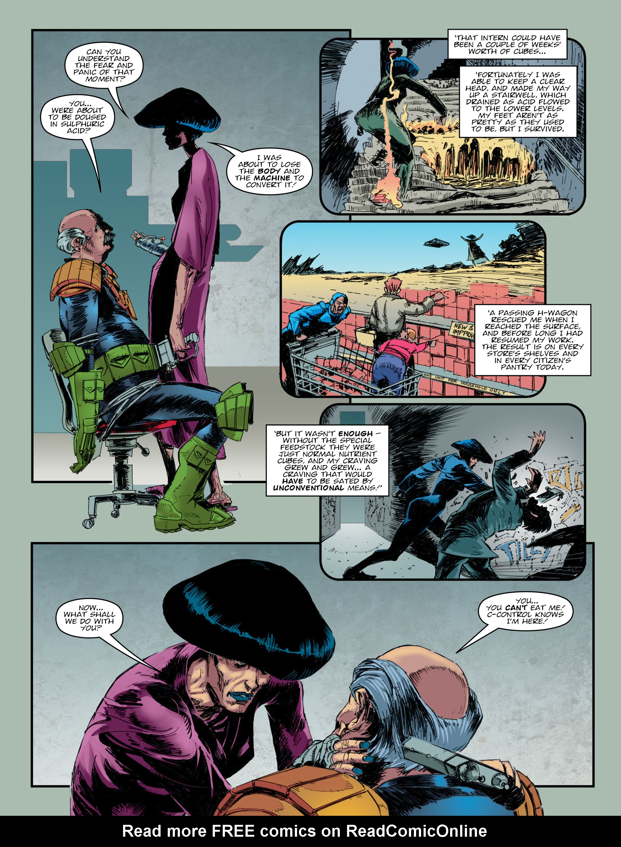 Read online 2000 AD comic -  Issue #2009 - 4
