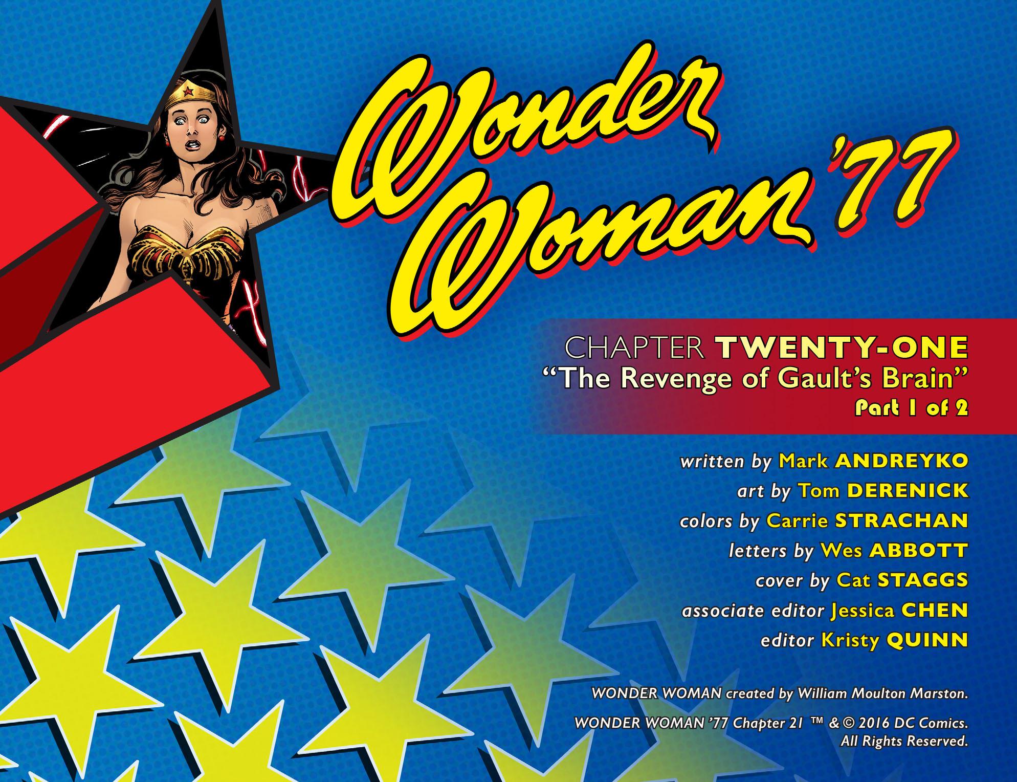 Read online Wonder Woman '77 [I] comic -  Issue #21 - 2