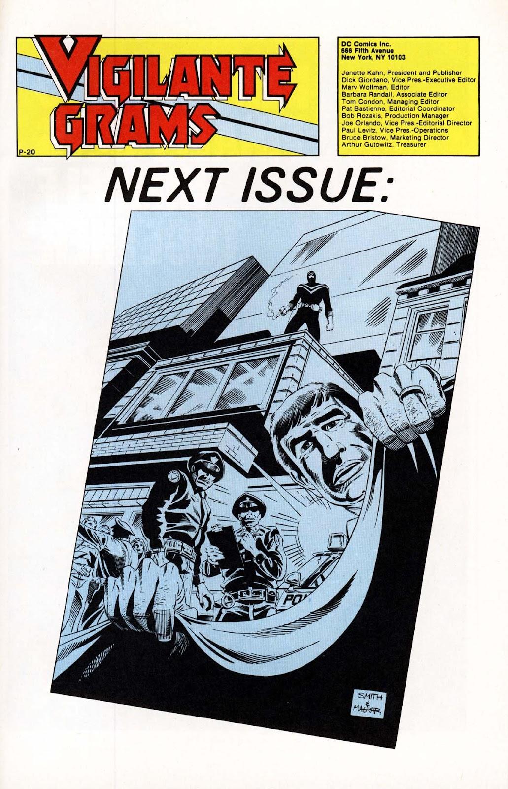 Vigilante (1983) issue 20 - Page 25