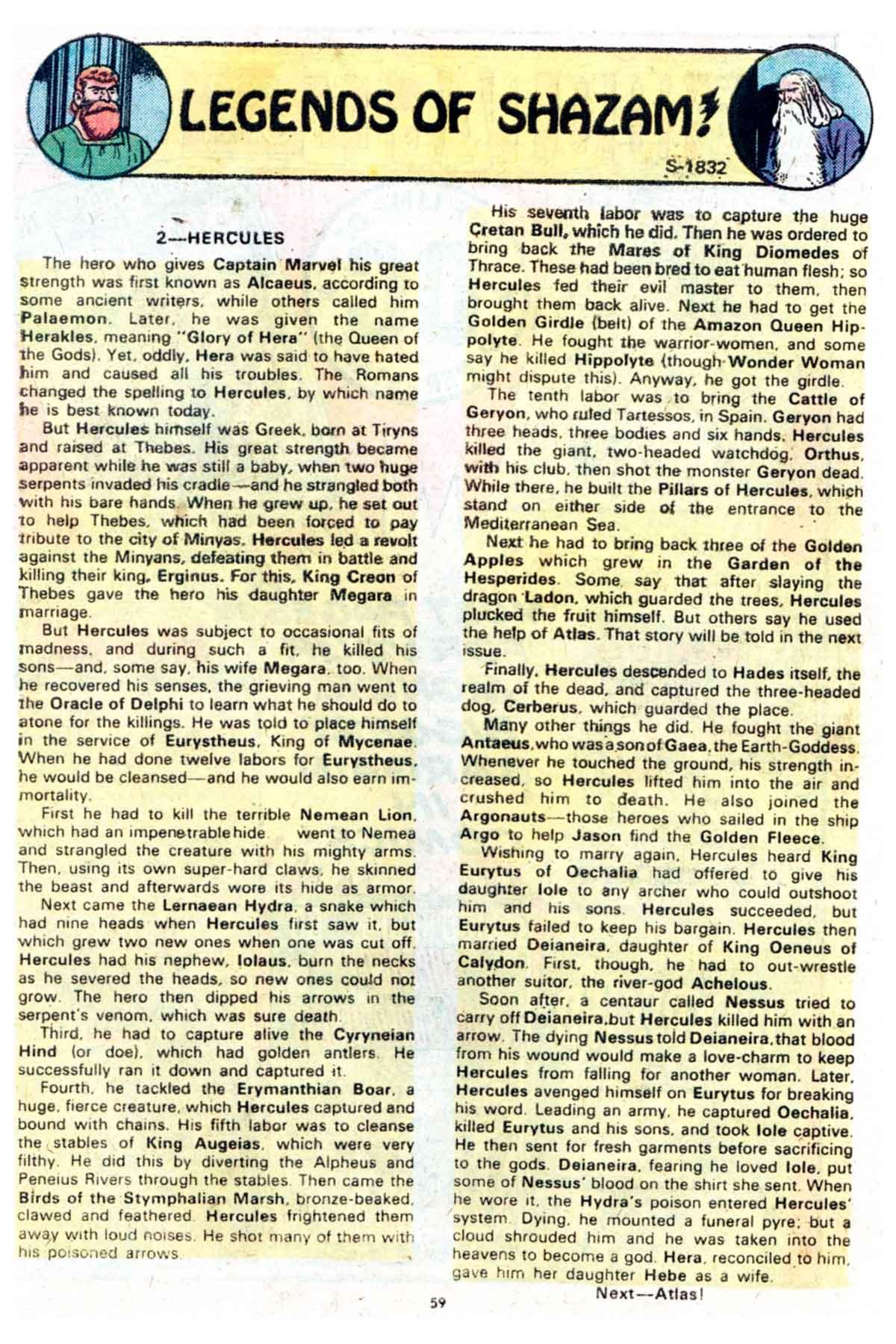 Read online Shazam! (1973) comic -  Issue #15 - 59
