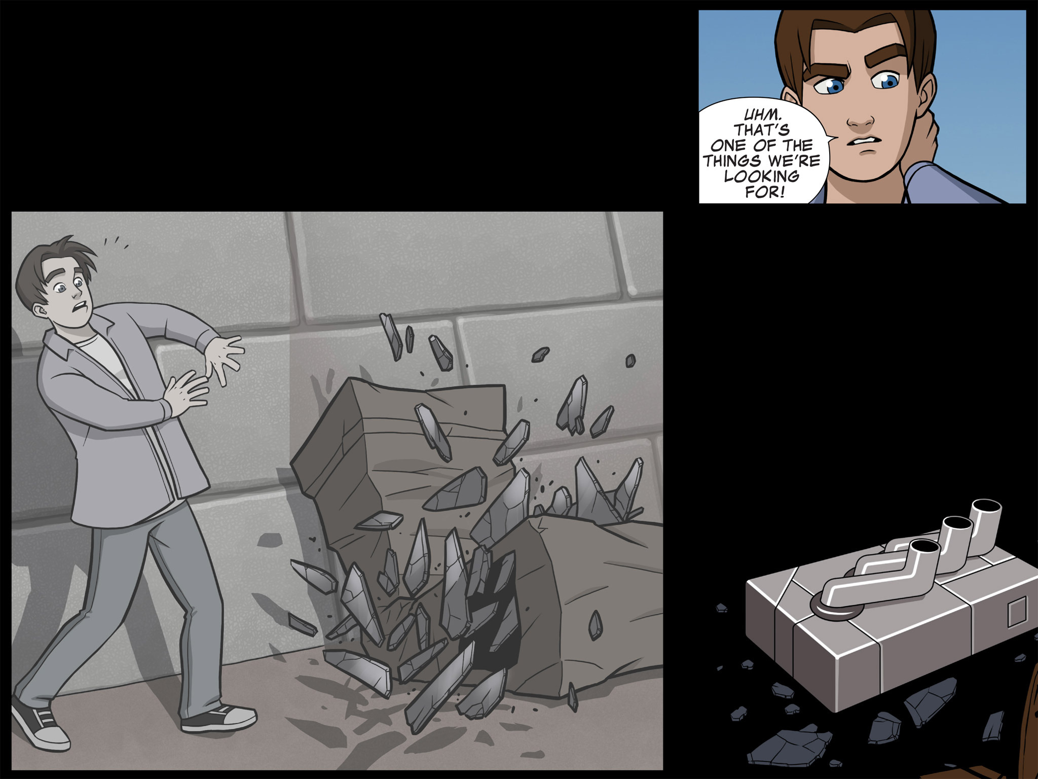 Read online Ultimate Spider-Man (Infinite Comics) (2015) comic -  Issue #7 - 25