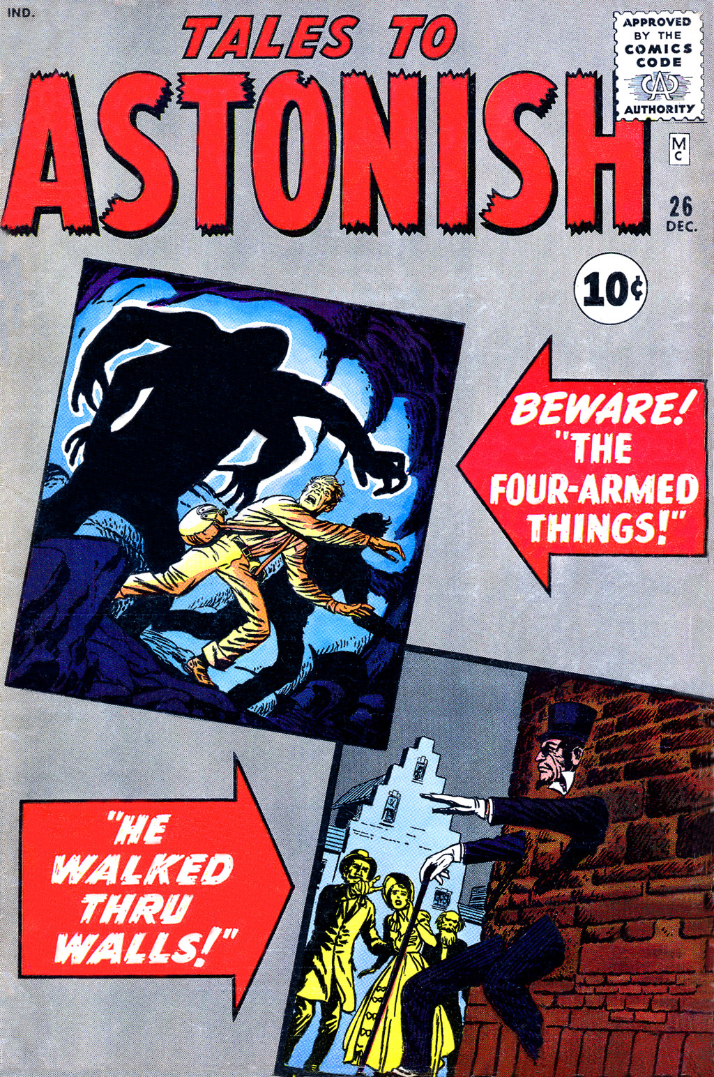 Tales to Astonish (1959) issue 26 - Page 1