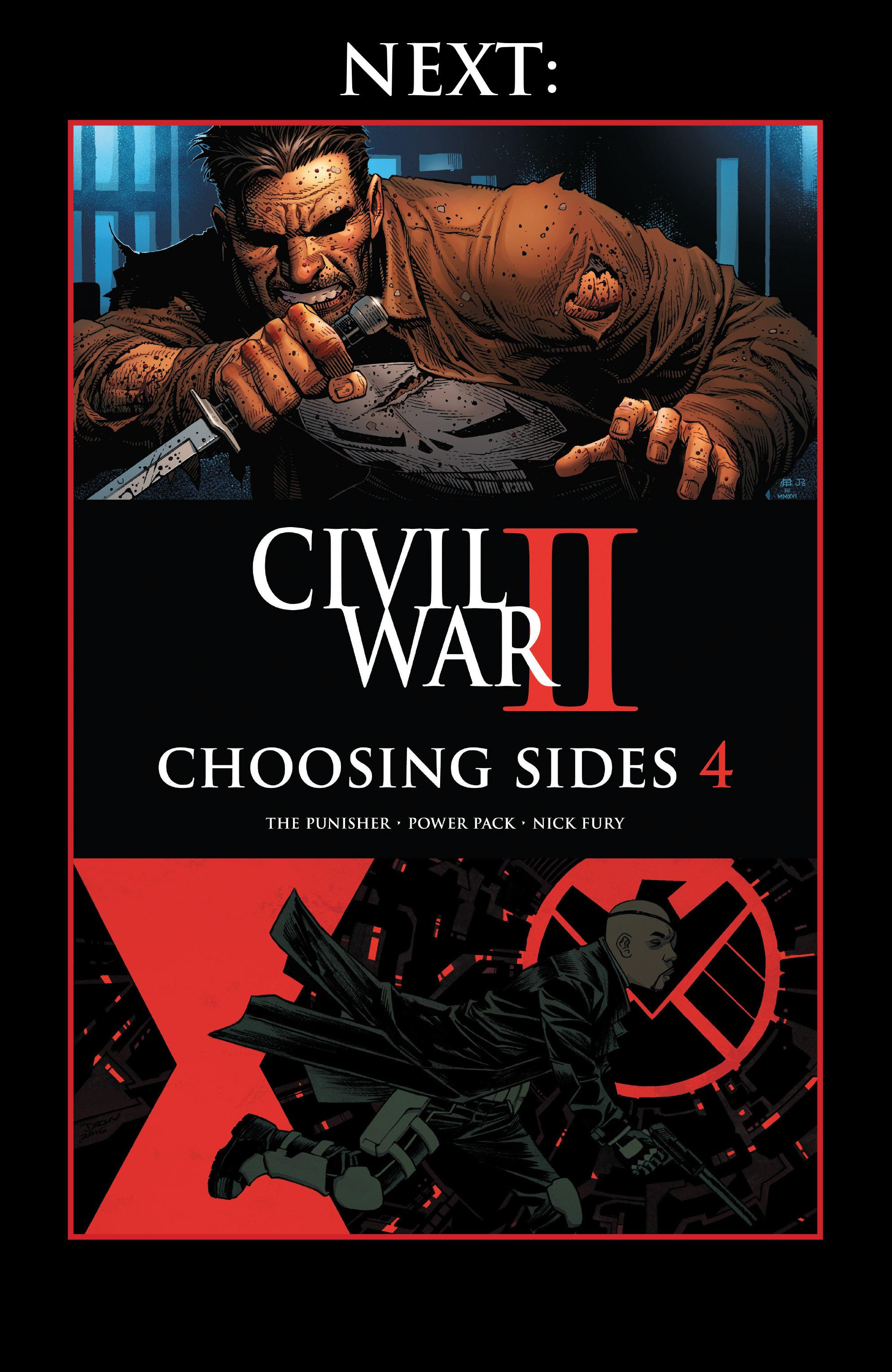 Read online Civil War II: Choosing Sides comic -  Issue #3 - 23