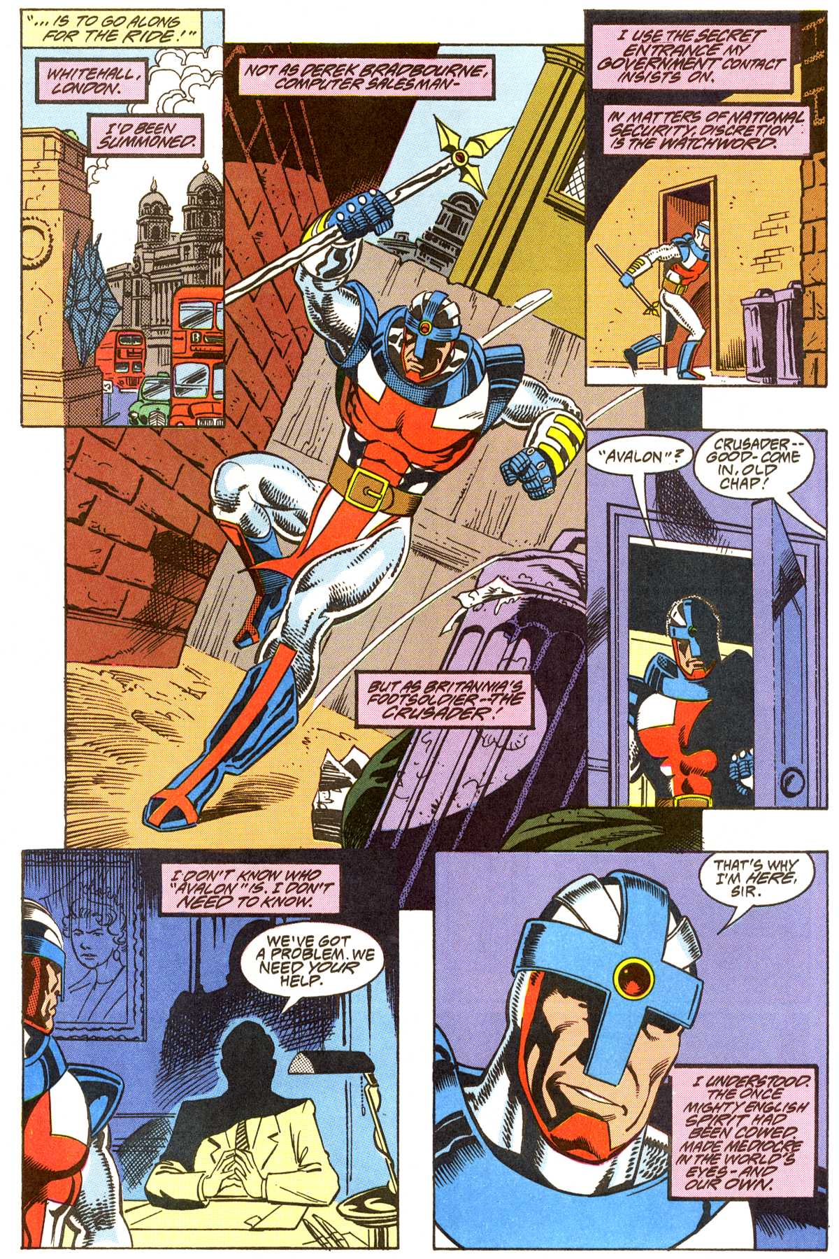 Read online Peter Cannon--Thunderbolt (1992) comic -  Issue #8 - 12