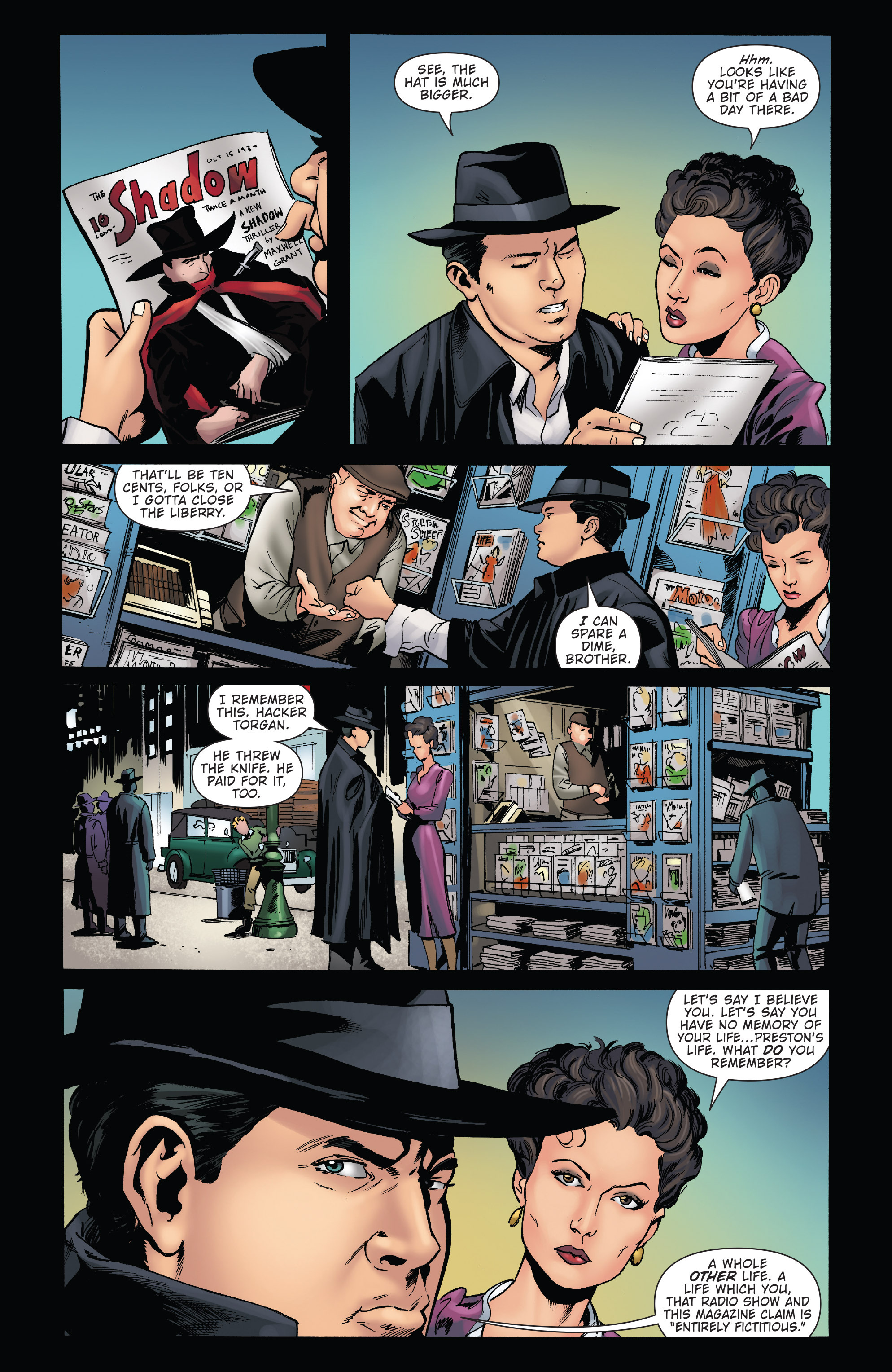 Read online Twilight Zone The Shadow comic -  Issue #2 - 13