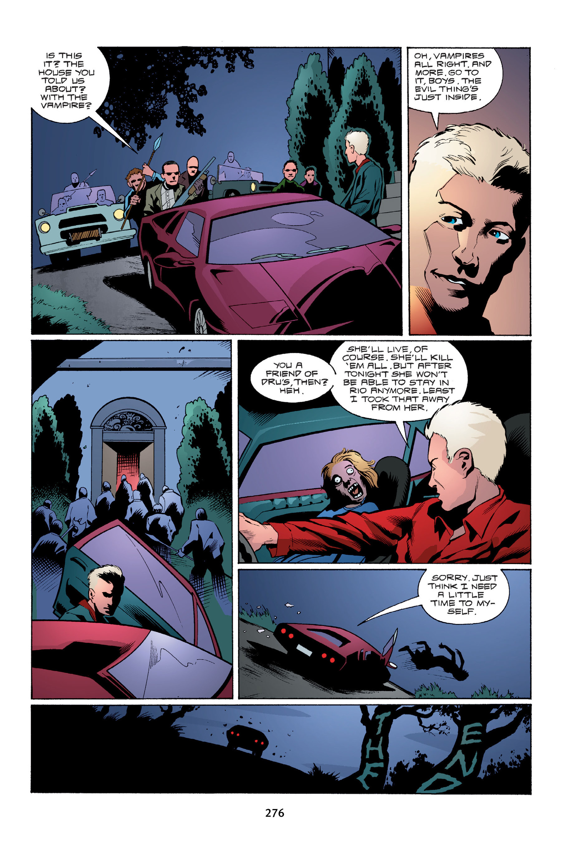 Read online Buffy the Vampire Slayer: Omnibus comic -  Issue # TPB 4 - 274