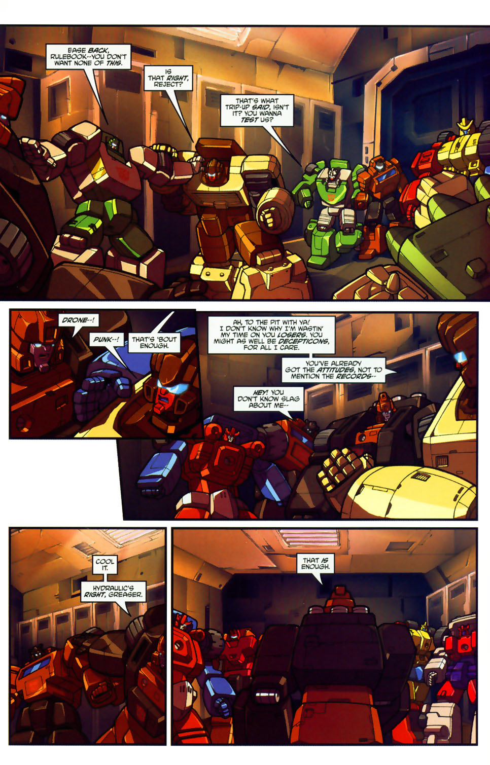 Read online Transformers: Micromasters comic -  Issue #1 - 19