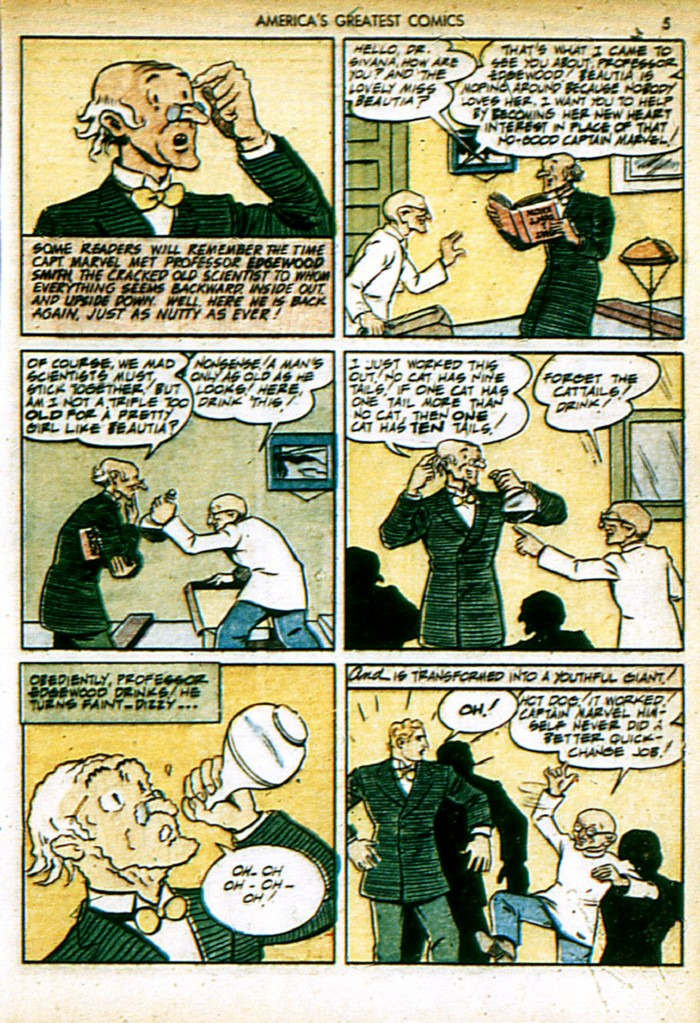 Read online America's Greatest Comics comic -  Issue #4 - 5