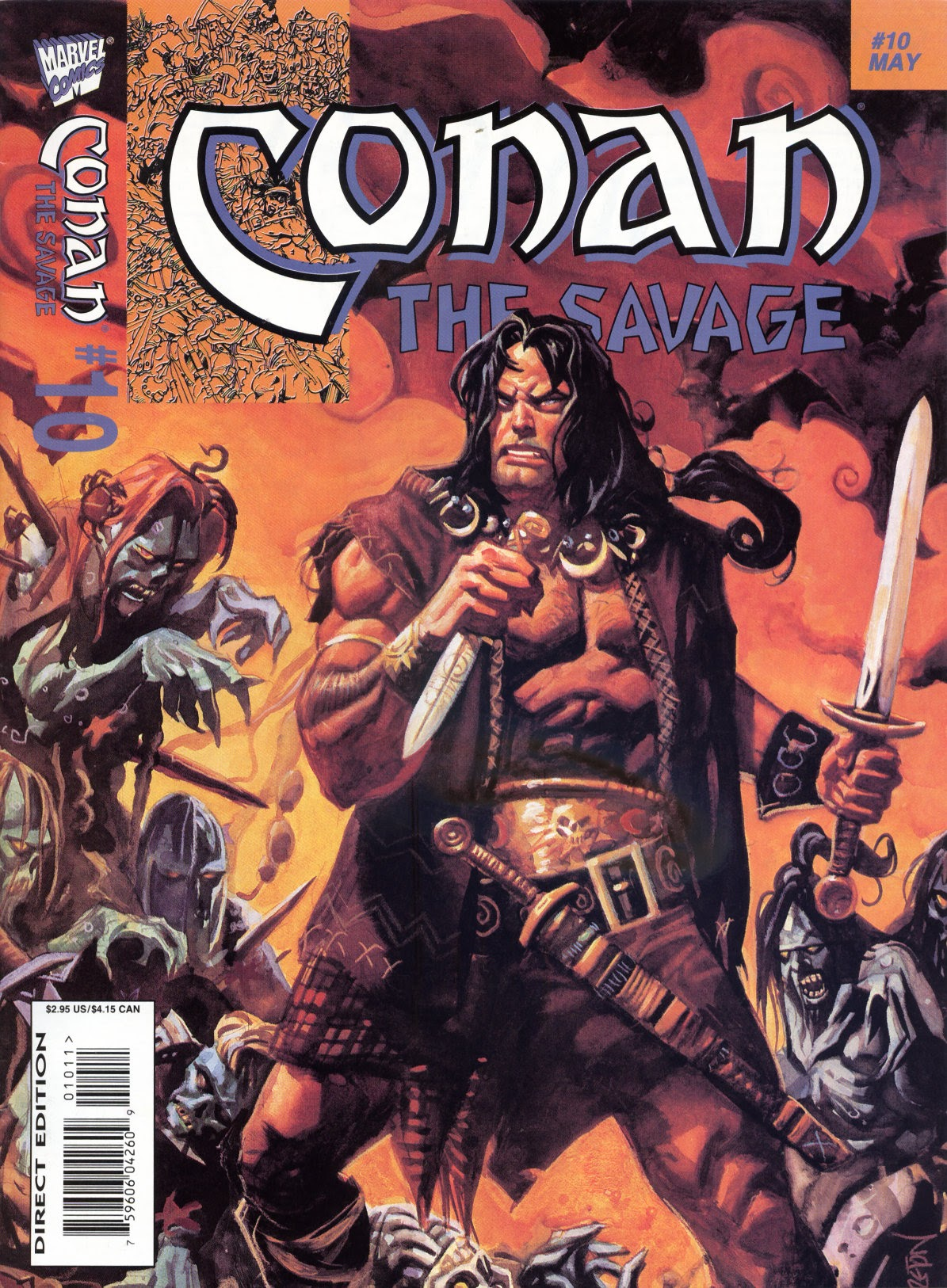 Conan the Savage 10 Page 1