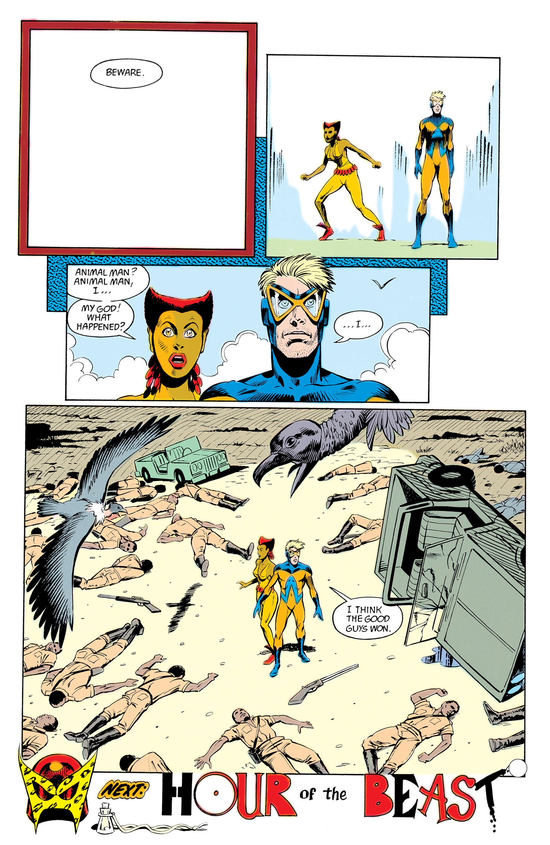 Read online Animal Man (1988) comic -  Issue #12 - 25
