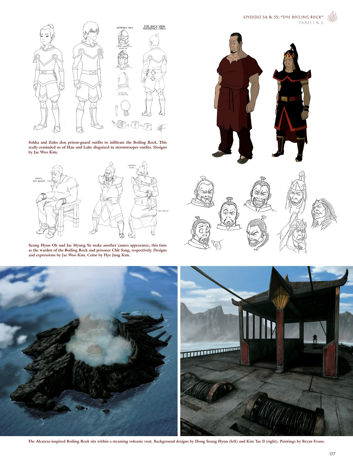 Read online Avatar: The Last Airbender - The Art of the Animated Series comic -  Issue # TPB (Part 2) - 54