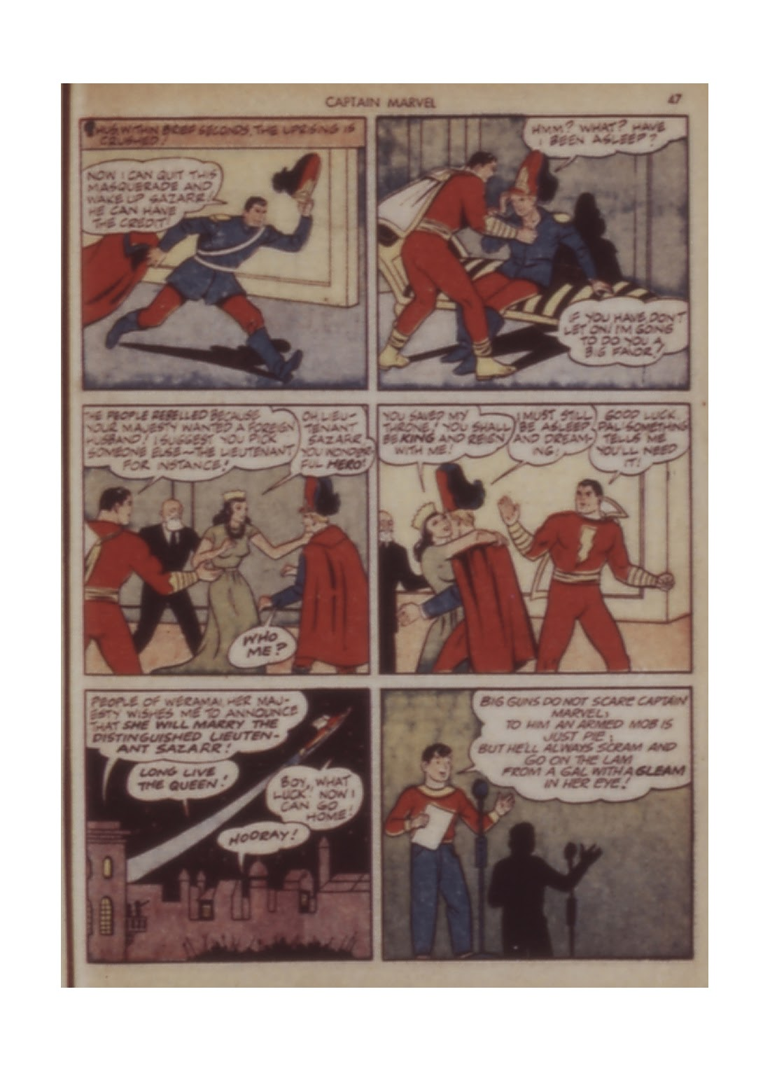 Captain Marvel Adventures issue 11 - Page 47