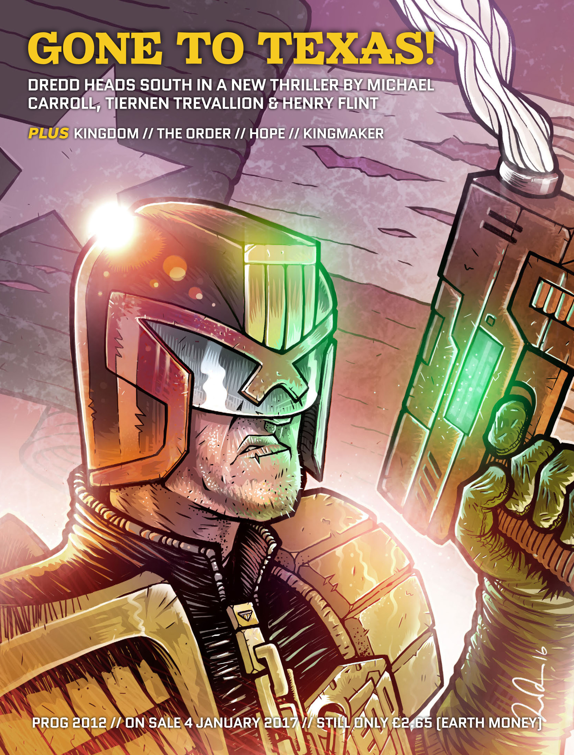 Read online 2000 AD comic -  Issue #2011 - 96