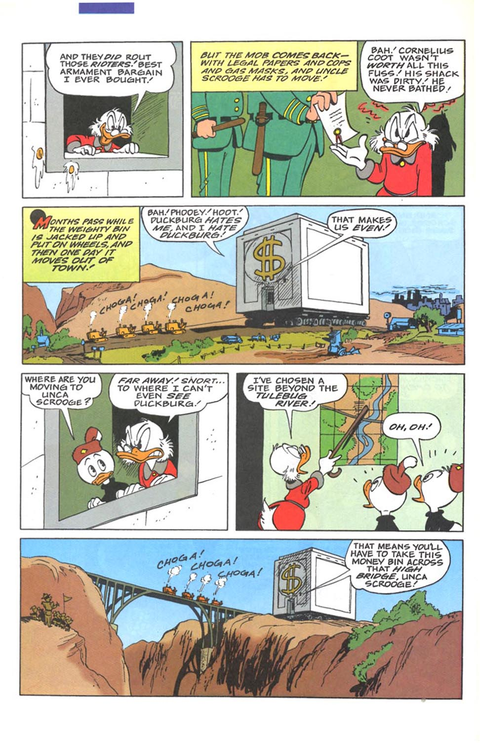 Read online Uncle Scrooge (1953) comic -  Issue #287 - 23