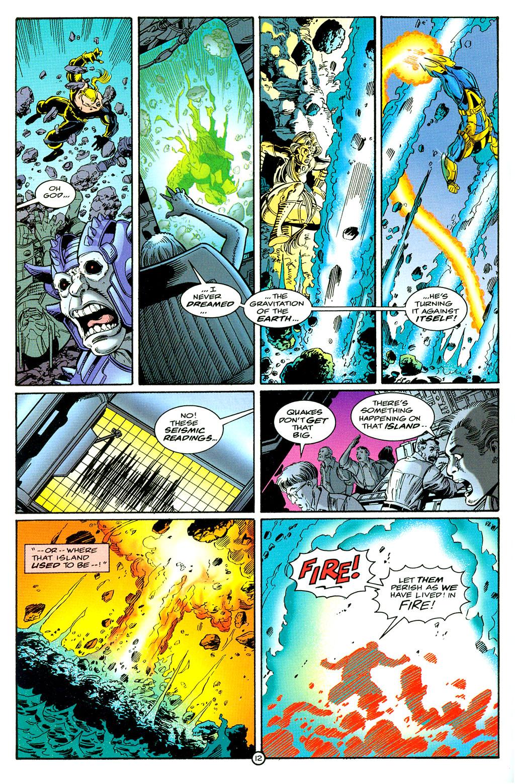Read online UltraForce (1994) comic -  Issue #6 - 12