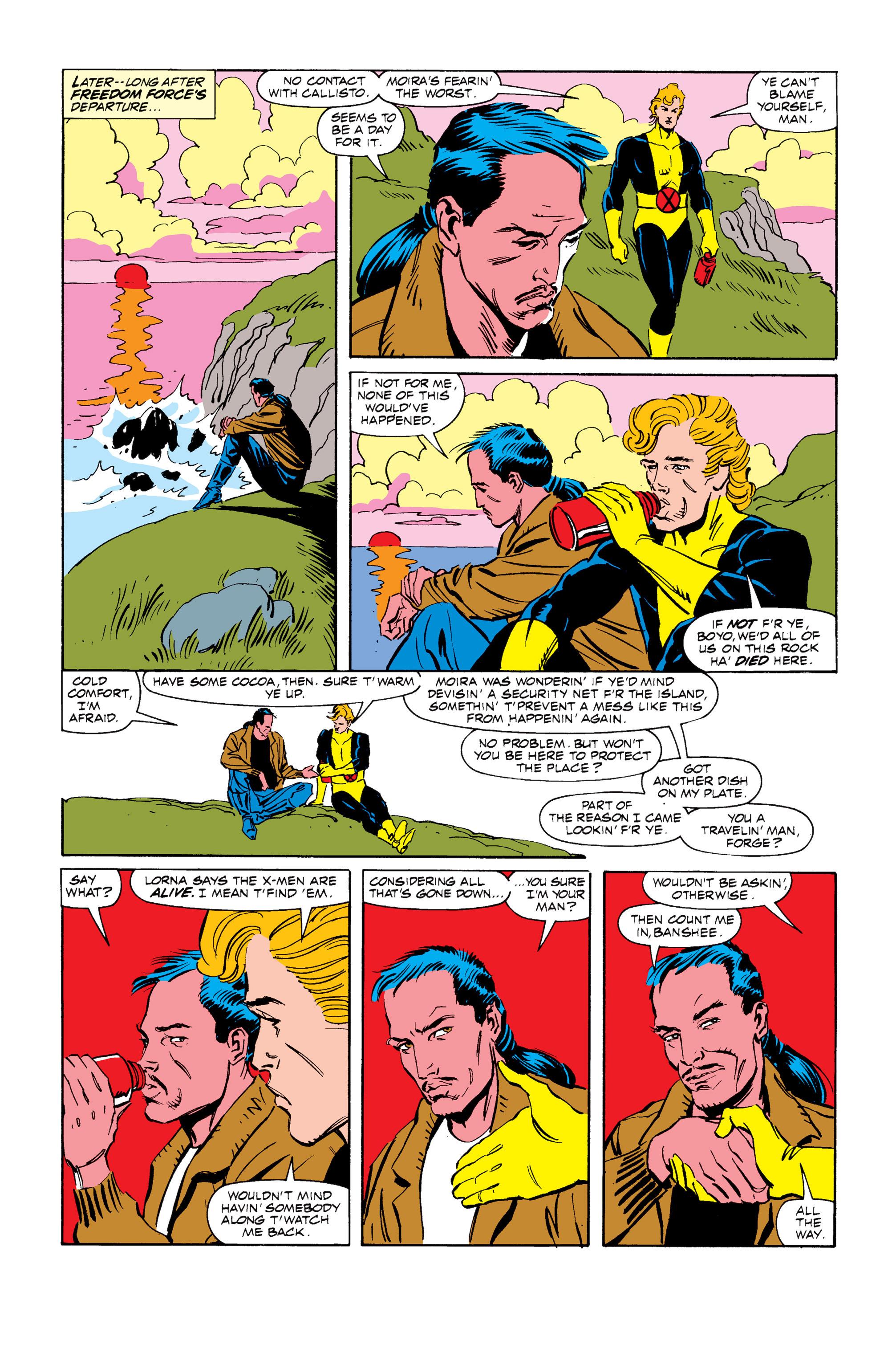 Read online Uncanny X-Men (1963) comic -  Issue #255 - 21