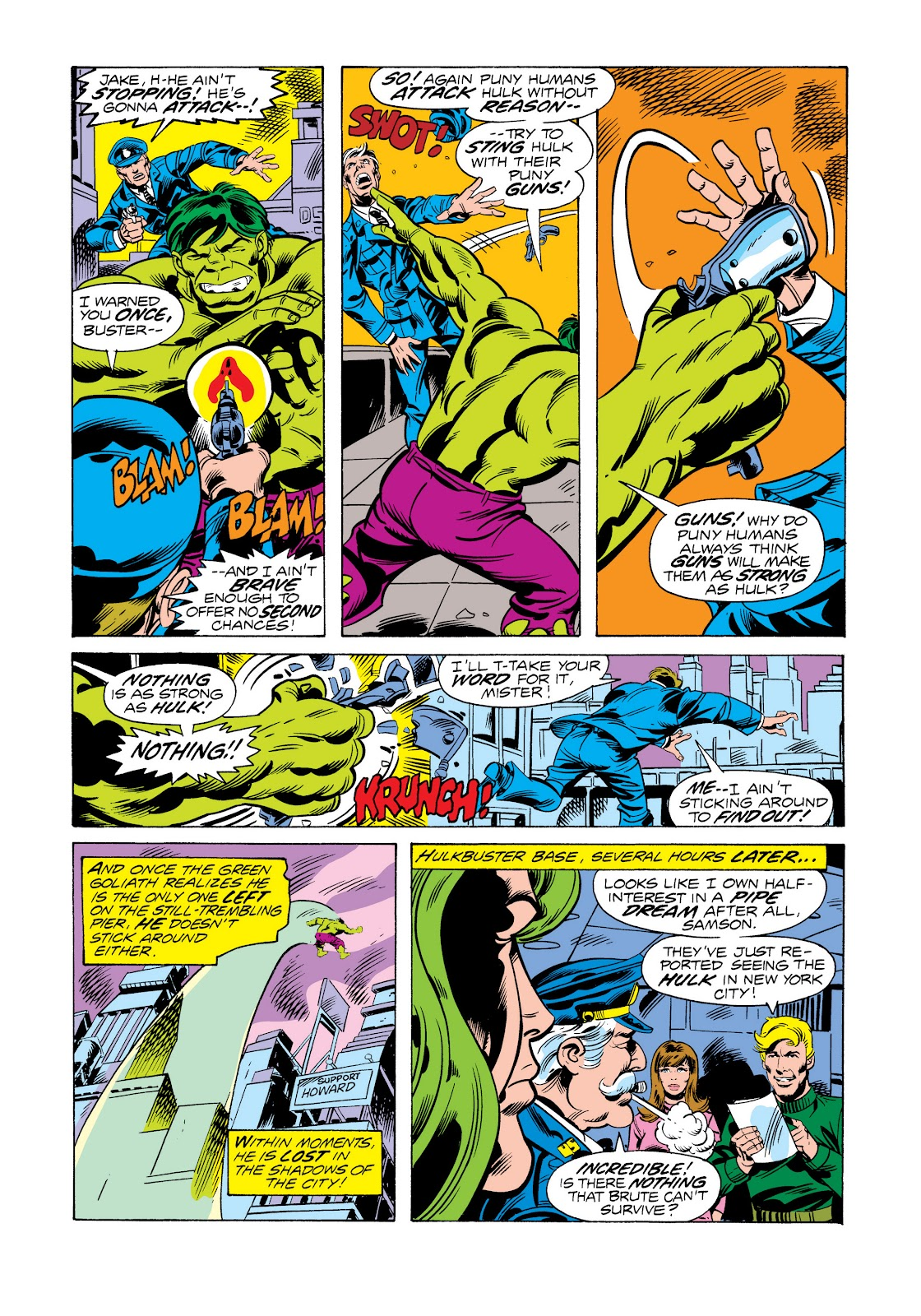 Read online Marvel Masterworks: The Incredible Hulk comic -  Issue # TPB 11 (Part 2) - 88
