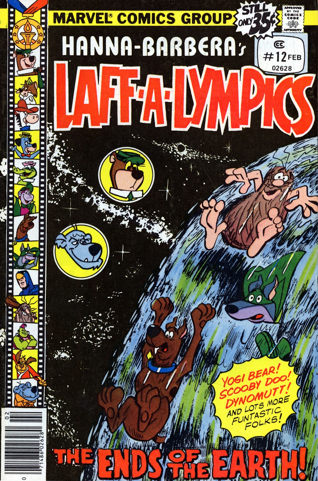 Laff-a-lympics issue 12 - Page 1