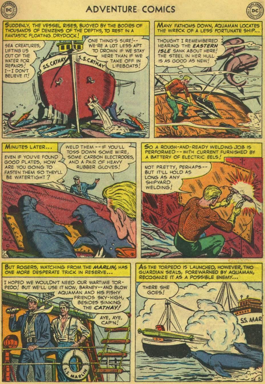 Read online Adventure Comics (1938) comic -  Issue #168 - 21