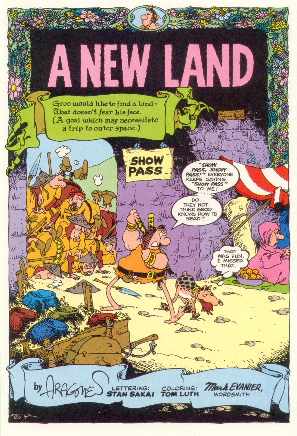 Read online Sergio Aragonés Groo the Wanderer comic -  Issue #101 - 3