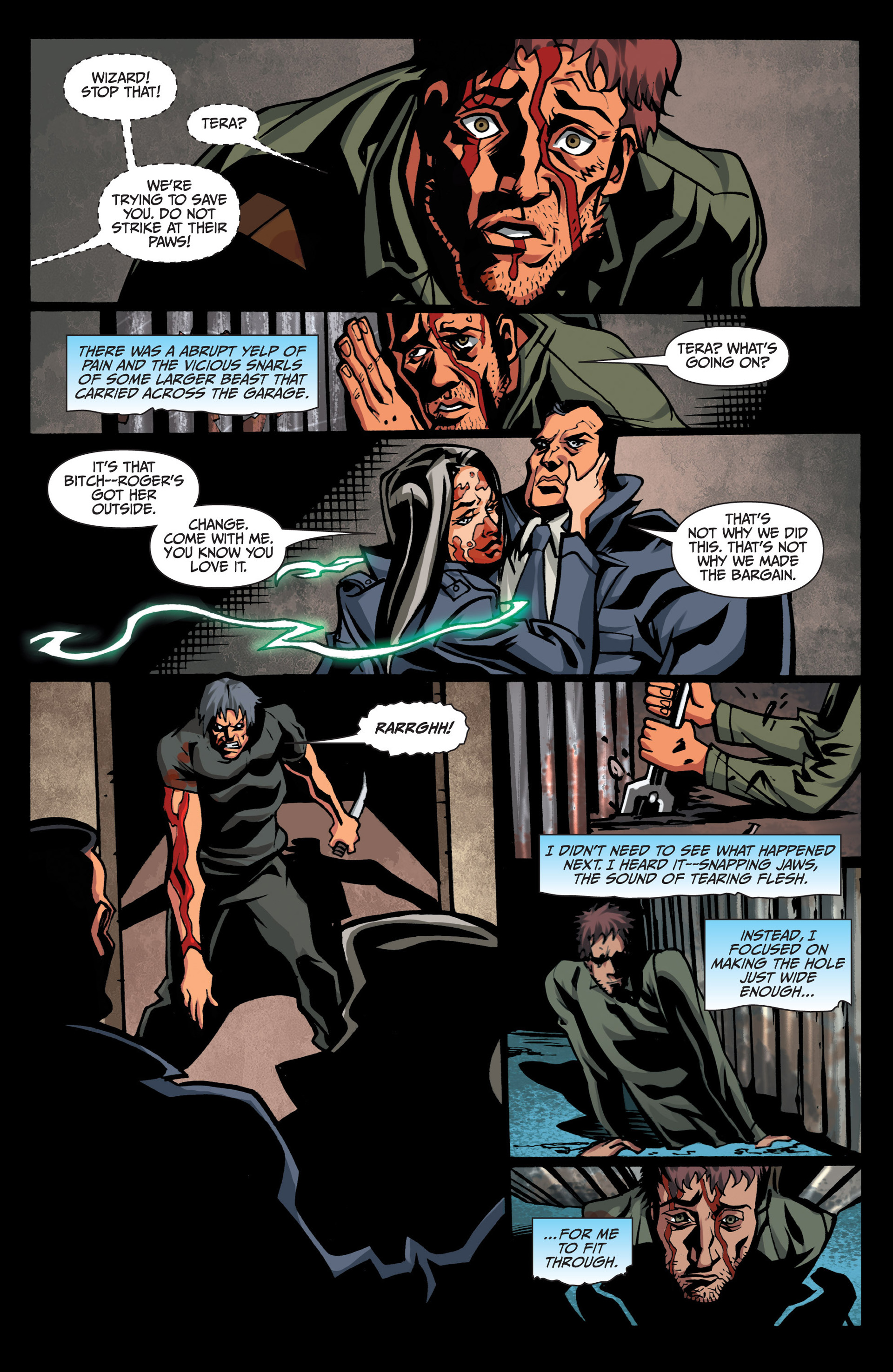 Read online Jim Butcher's The Dresden Files: Fool Moon comic -  Issue #7 - 9