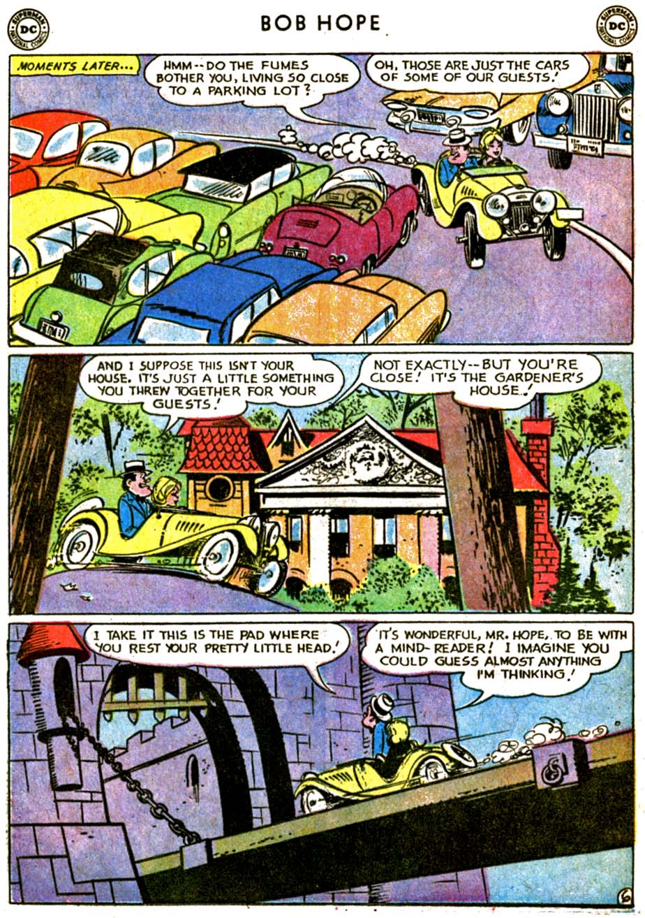 The Adventures of Bob Hope issue 77 - Page 8