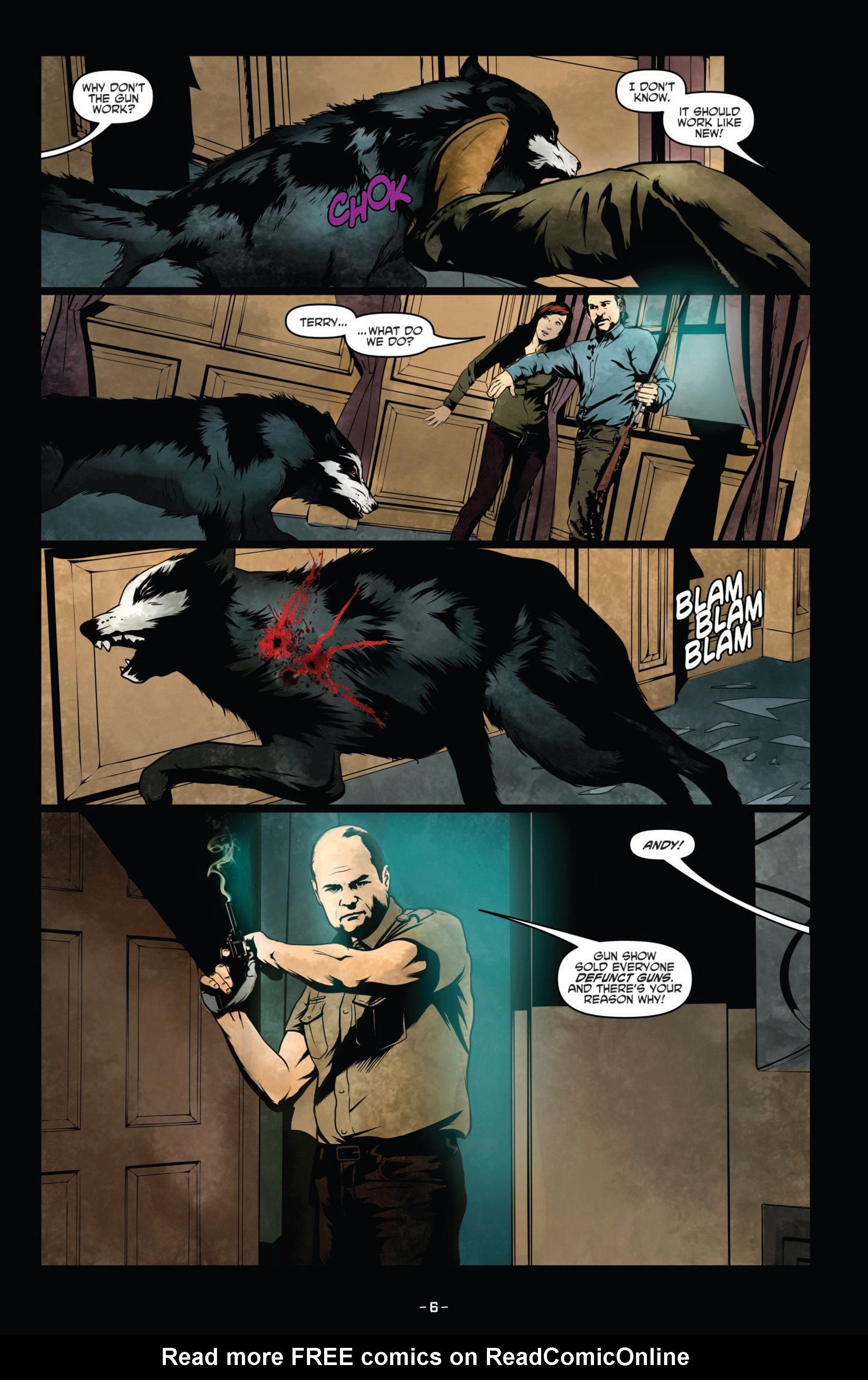 Read online True Blood (2012) comic -  Issue #9 - 8