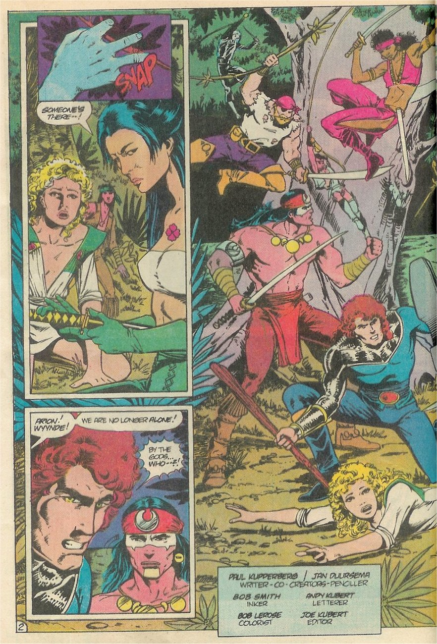 Read online Arion, Lord of Atlantis comic -  Issue #20 - 3