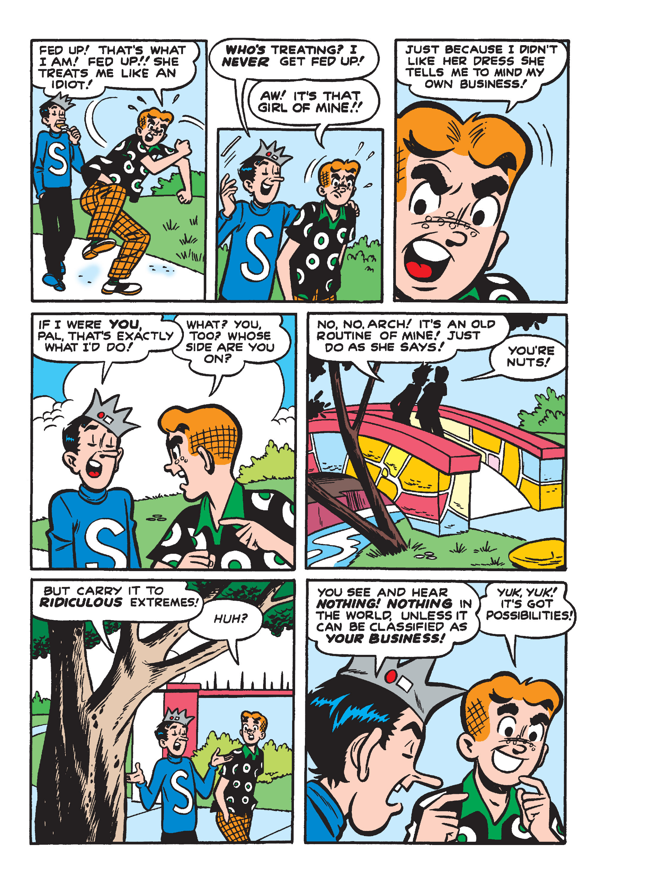 Read online Archie's Funhouse Double Digest comic -  Issue #15 - 131