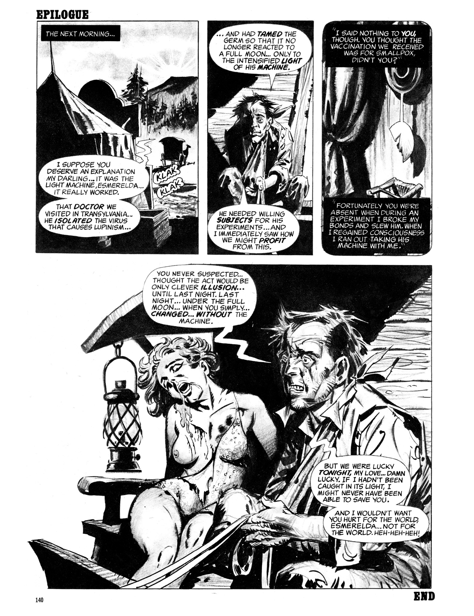Read online Eerie Archives comic -  Issue # TPB 18 - 141