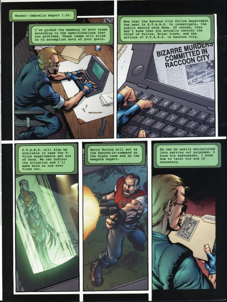 Resident Evil (1998) Issue #1 #1 - English 4