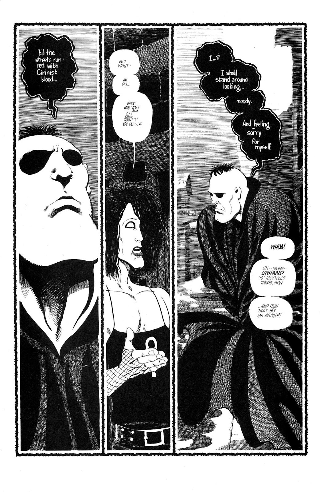 Cerebus Issue #165 #164 - English 5