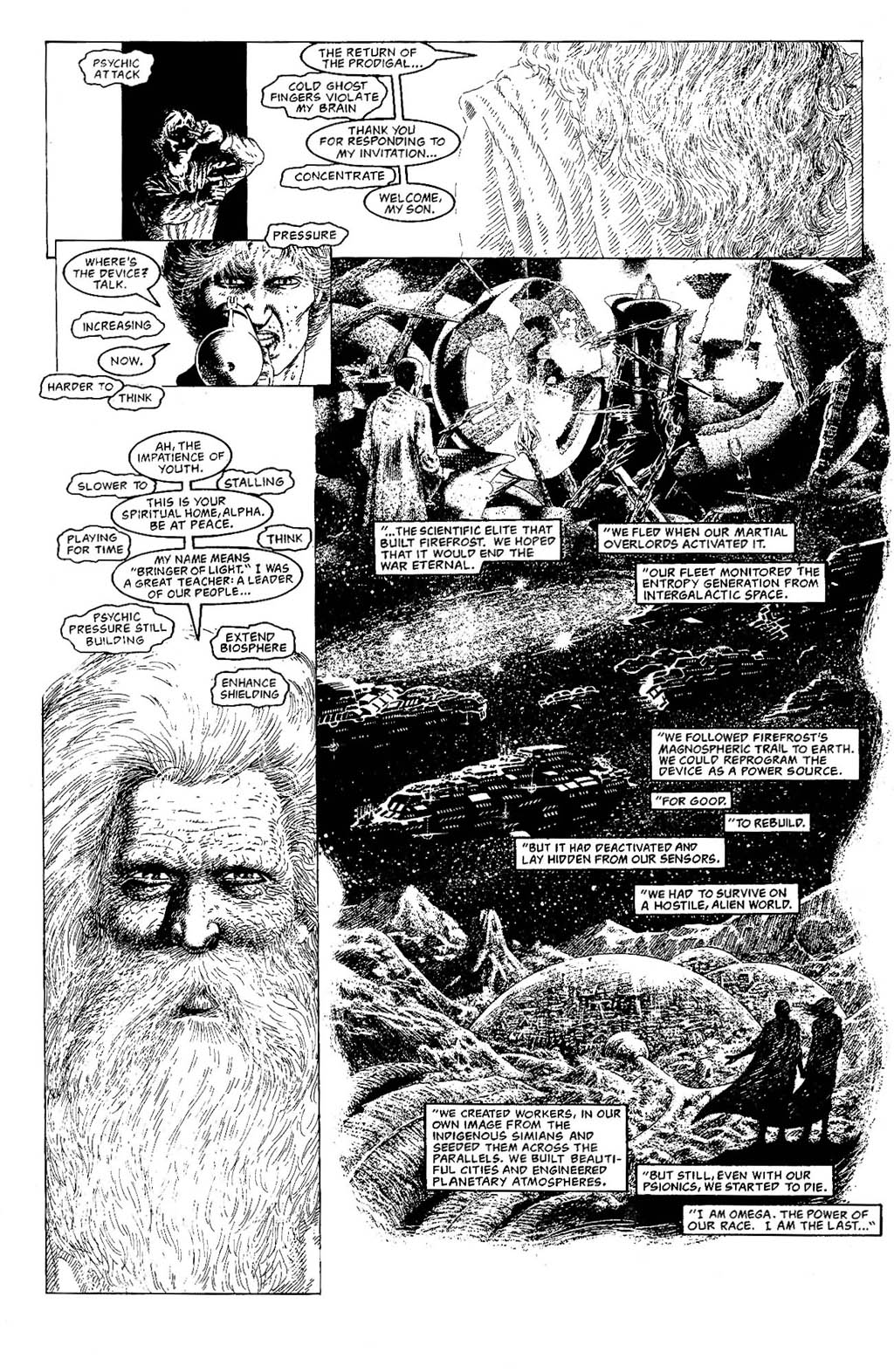 Read online The Adventures of Luther Arkwright comic -  Issue #9 - 10