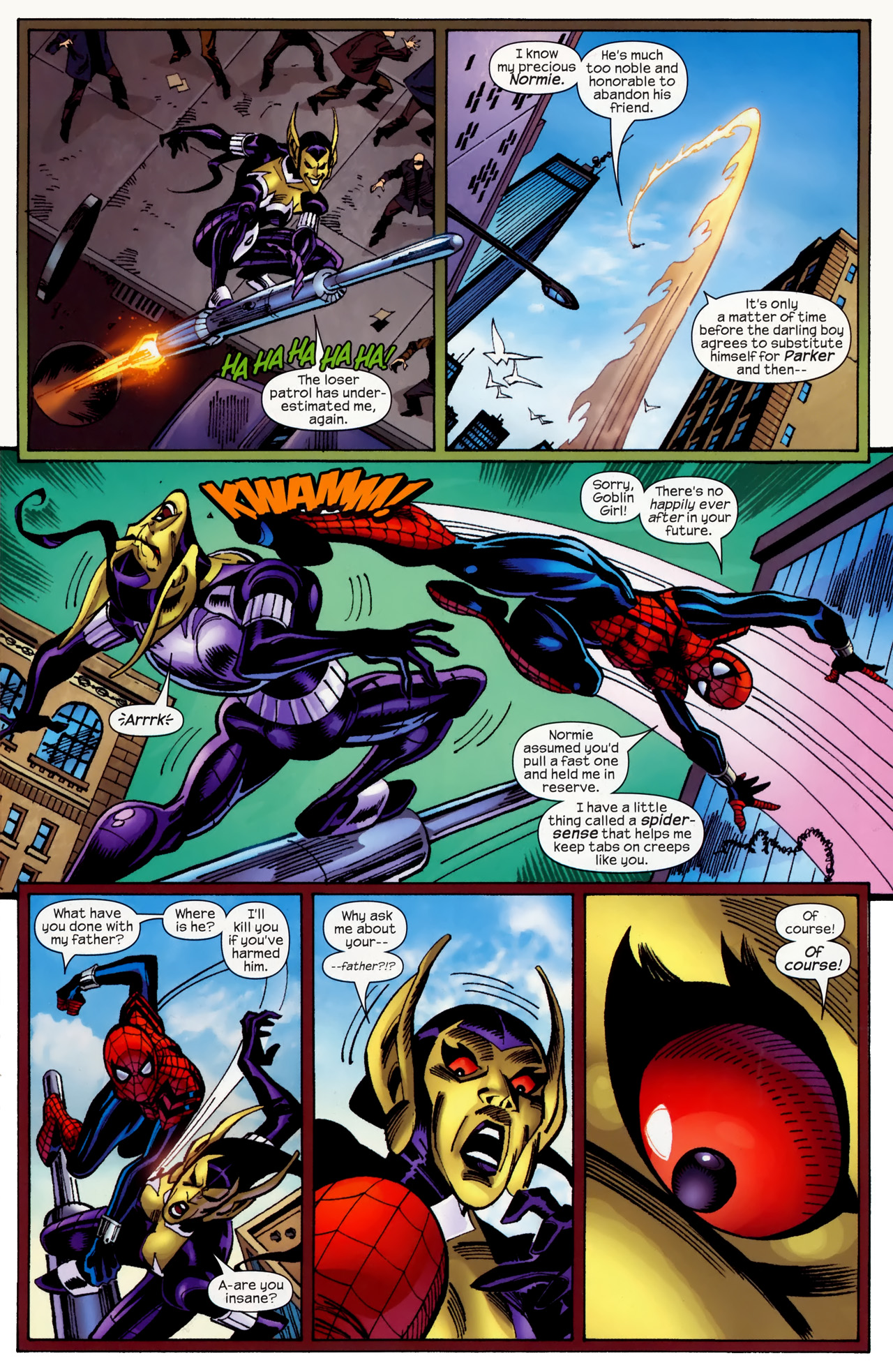 Read online Amazing Spider-Girl comic -  Issue #27 - 18