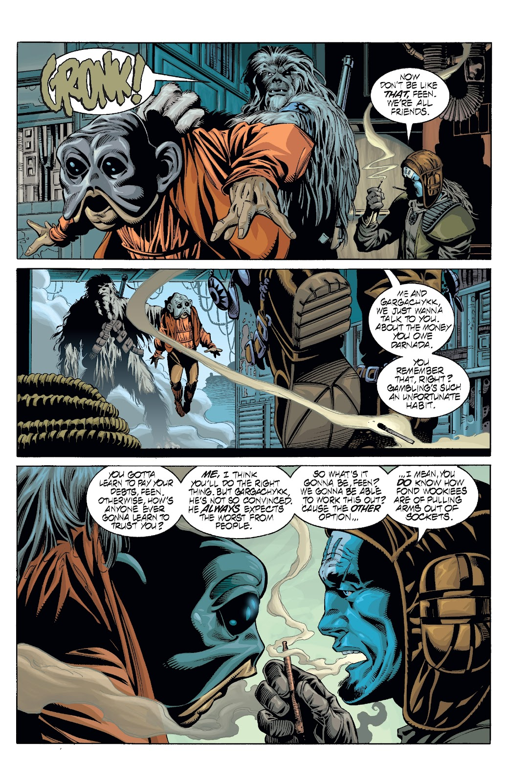 Read online Star Wars Legends: Rise of the Sith - Epic Collection comic -  Issue # TPB 2 (Part 2) - 65