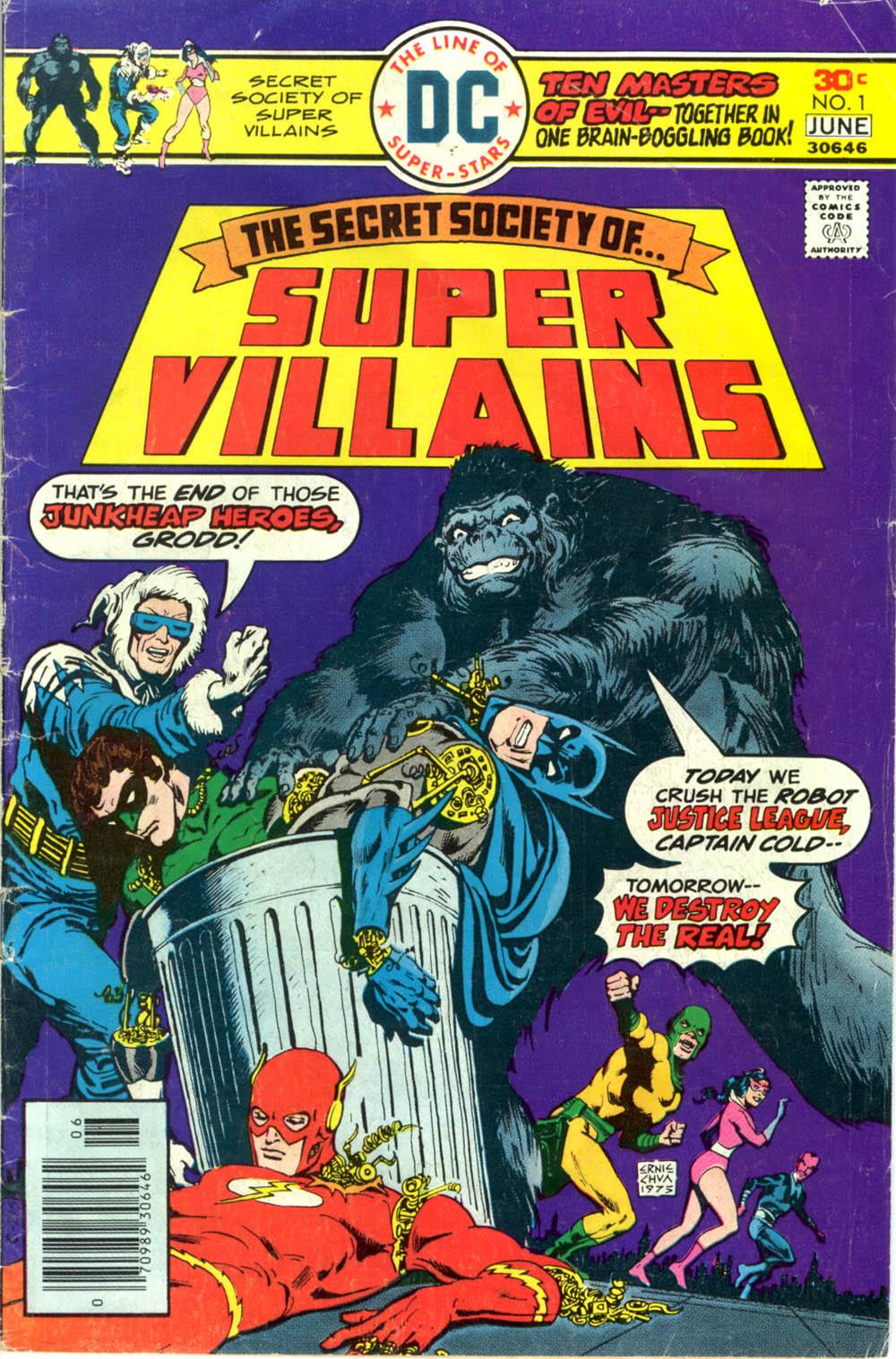 Read online Secret Society of Super-Villains comic -  Issue #1 - 1