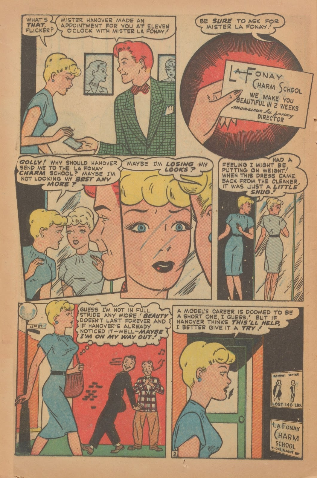 Read online Nellie The Nurse (1945) comic -  Issue #9 - 18