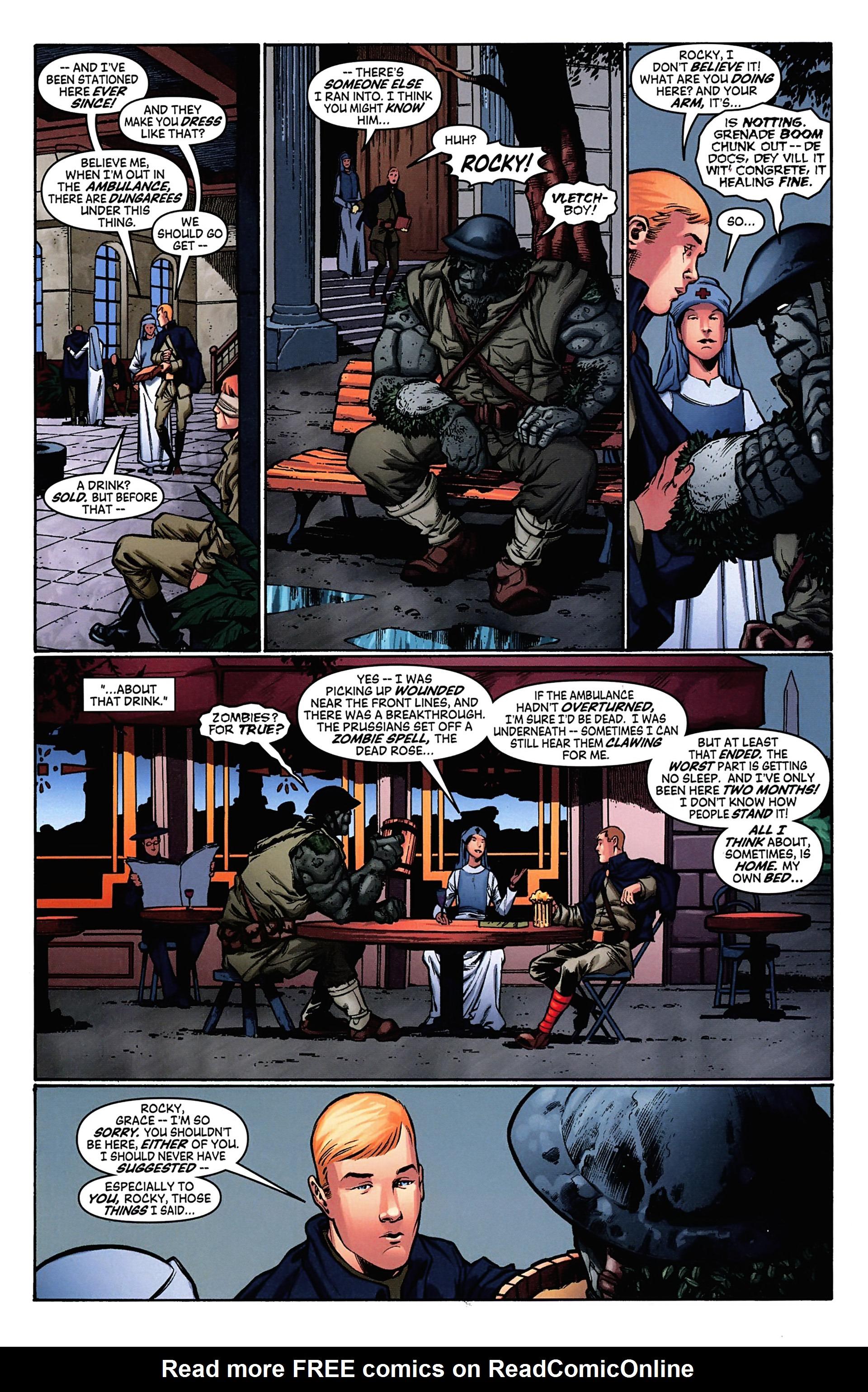 Read online Arrowsmith comic -  Issue #4 - 14