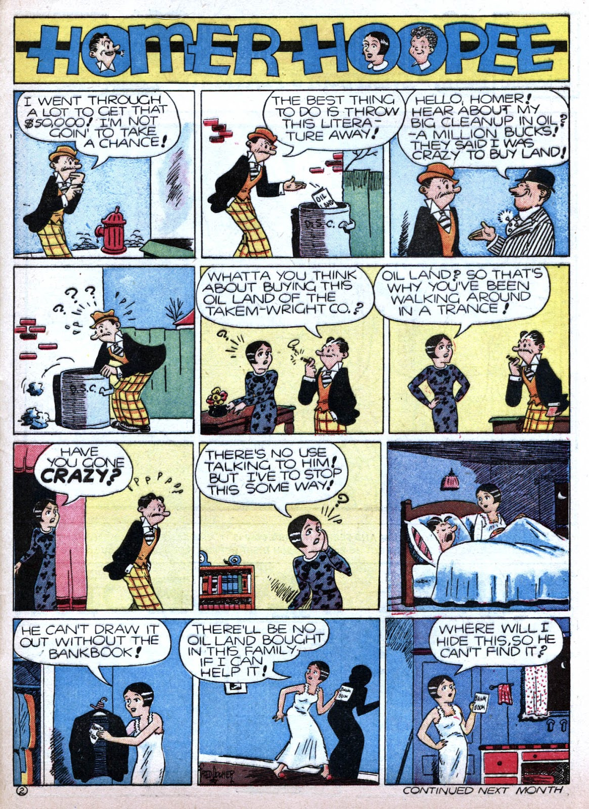 Read online Famous Funnies comic -  Issue #79 - 63
