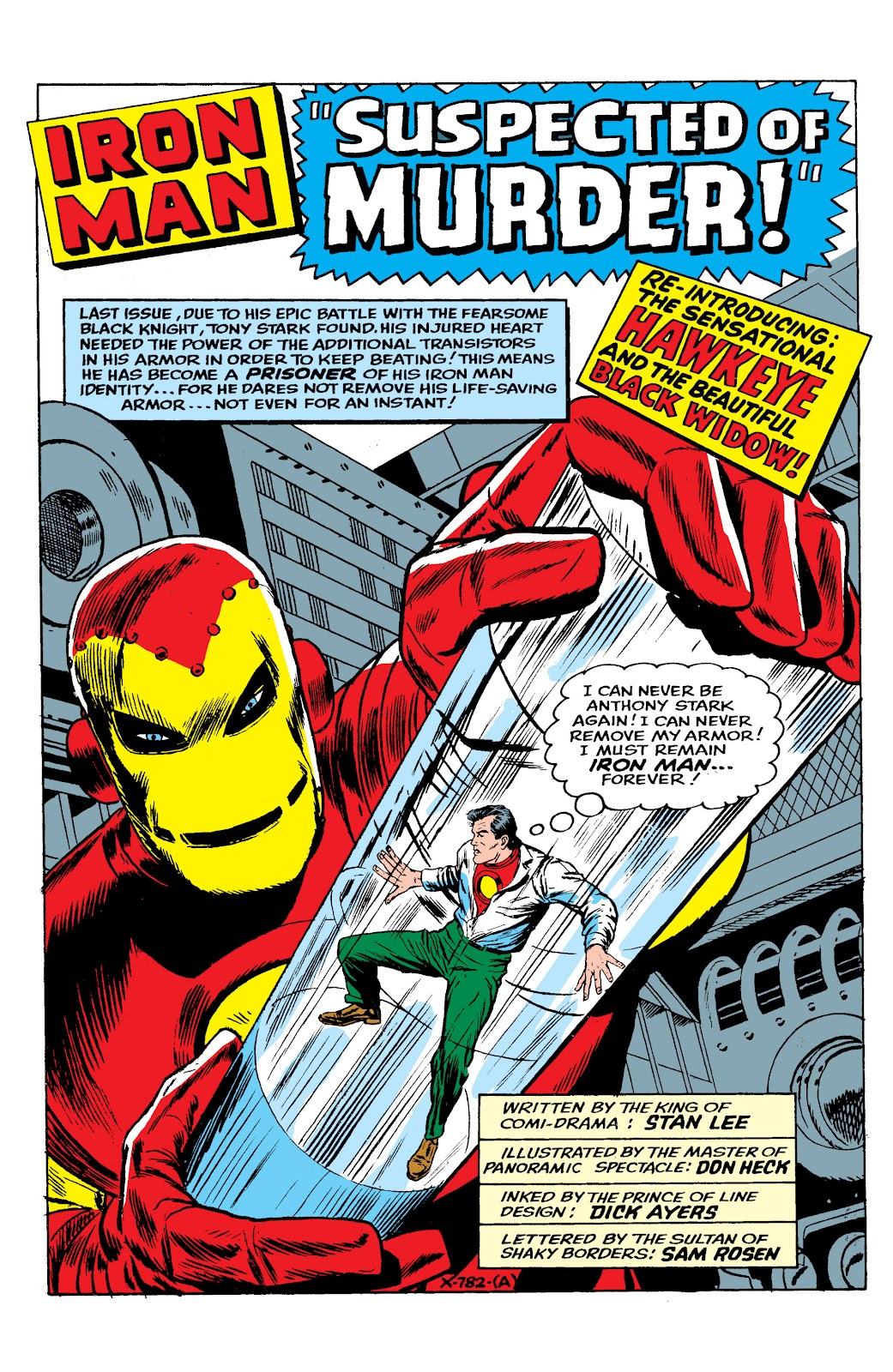Read online Marvel Masterworks: The Invincible Iron Man comic -  Issue # TPB 2 (Part 2) - 57