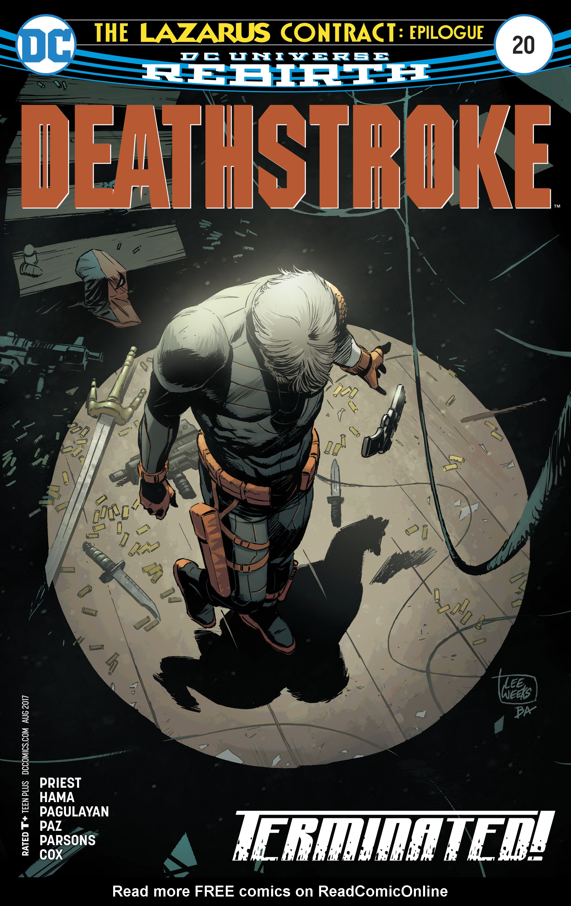 Deathstroke (2016) 20 Page 1