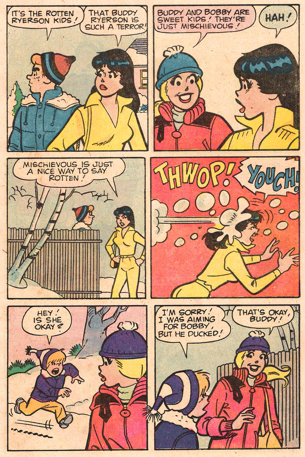 Read online Archie's Girls Betty and Veronica comic -  Issue #303 - 5