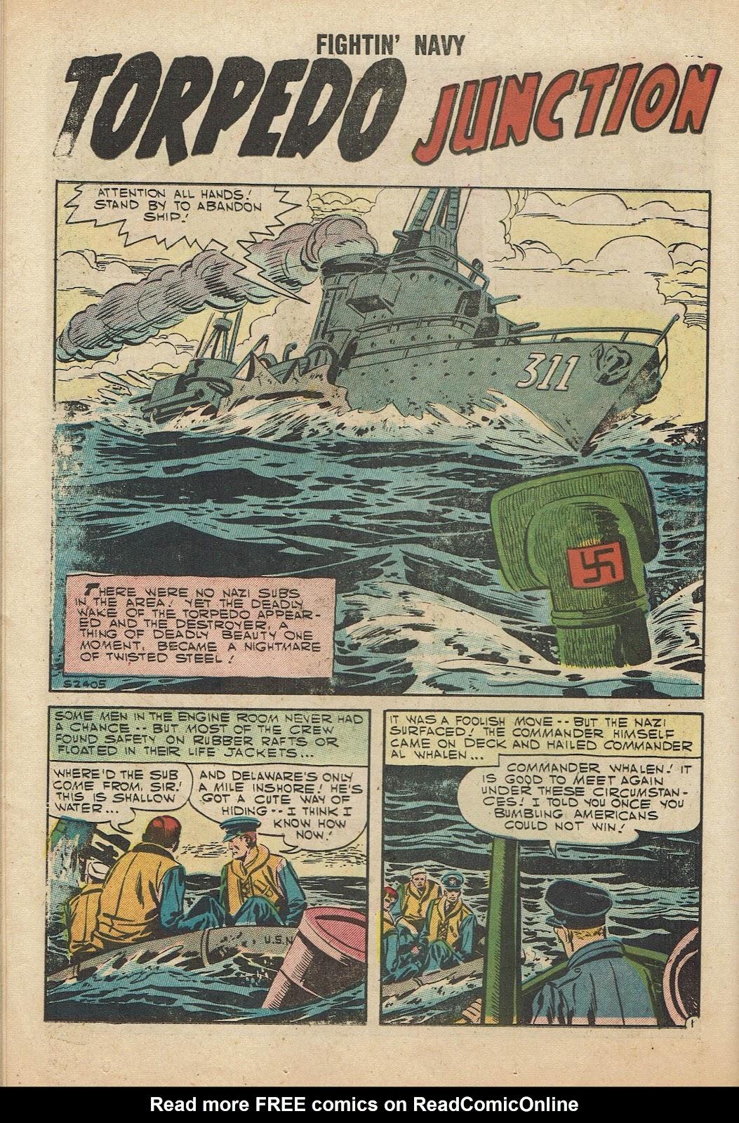 Read online Fightin' Navy comic -  Issue #81 - 14