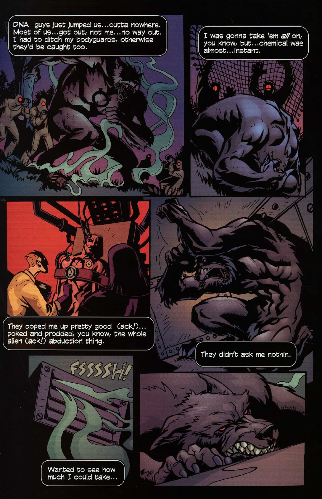 Read online Werewolf the Apocalypse comic -  Issue # Bone Gnawers - 11