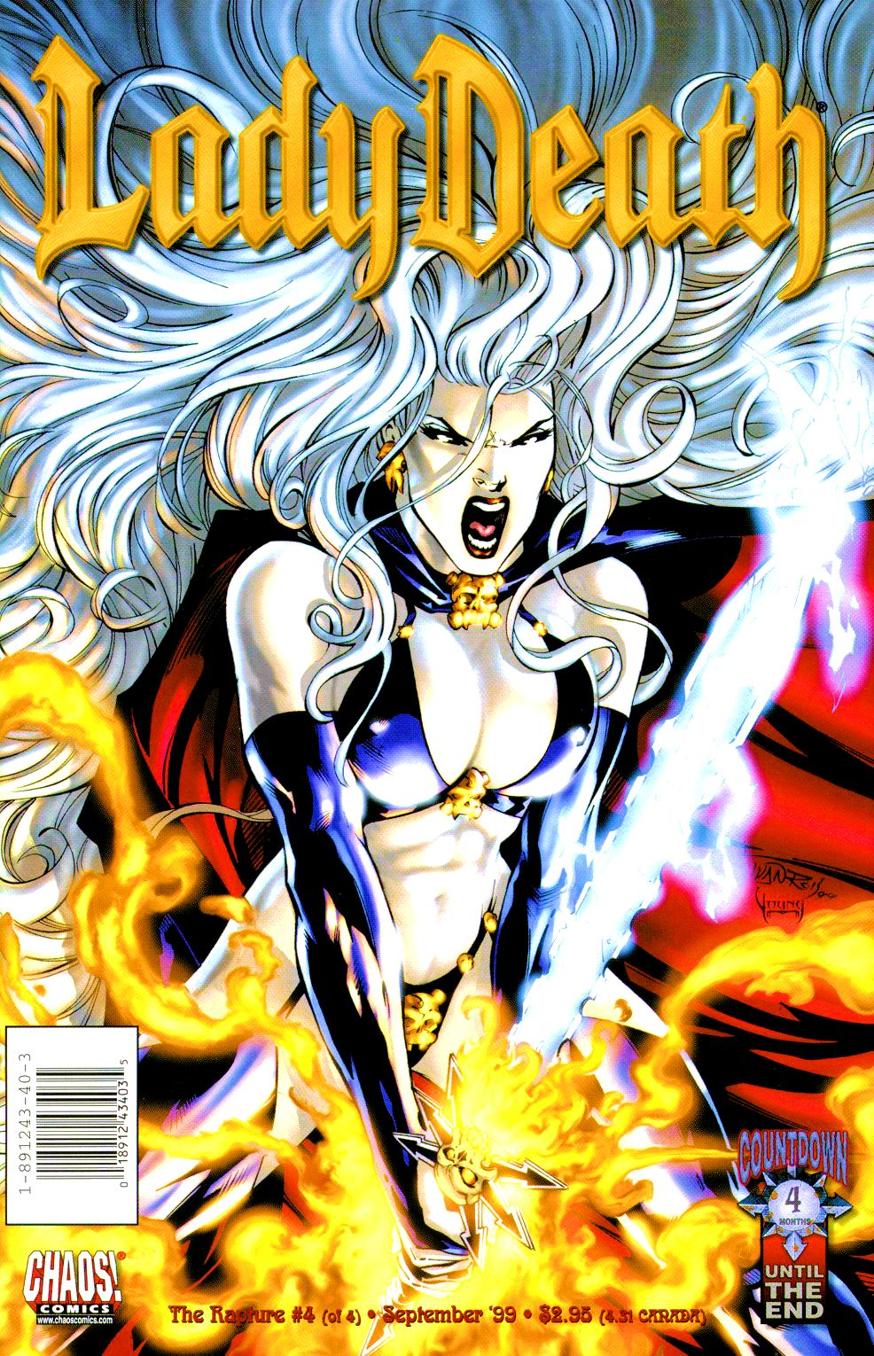 Lady Death: The Rapture issue 4 - Page 1