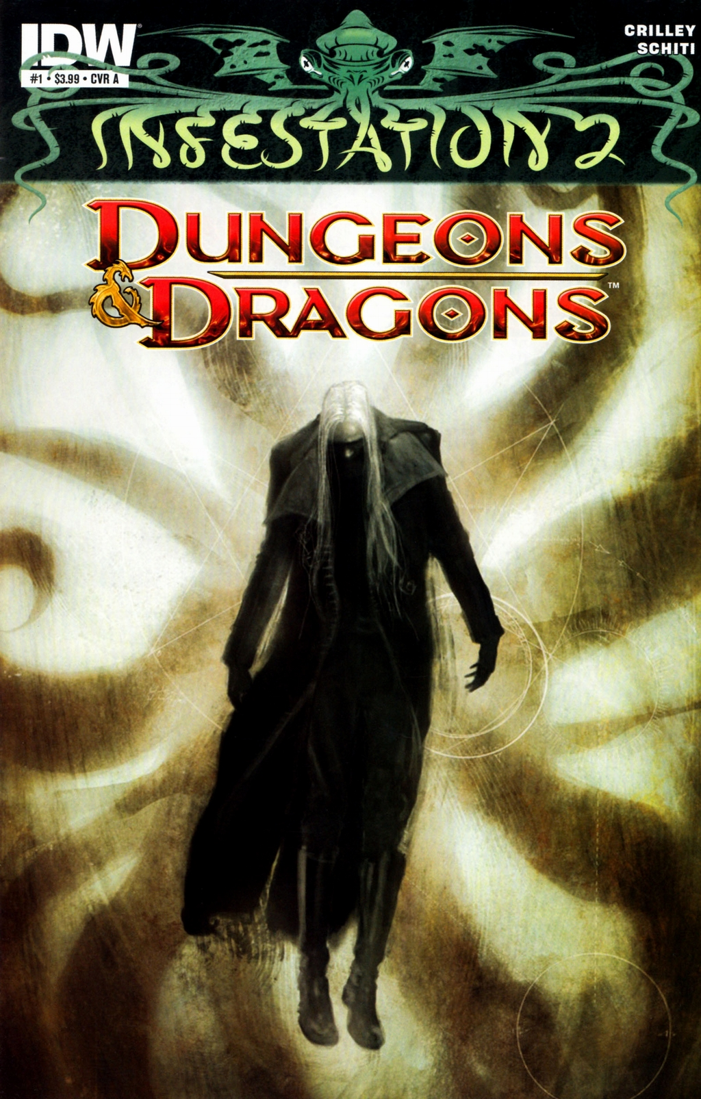 Read online Infestation 2: Dungeons & Dragons comic -  Issue #1 - 1