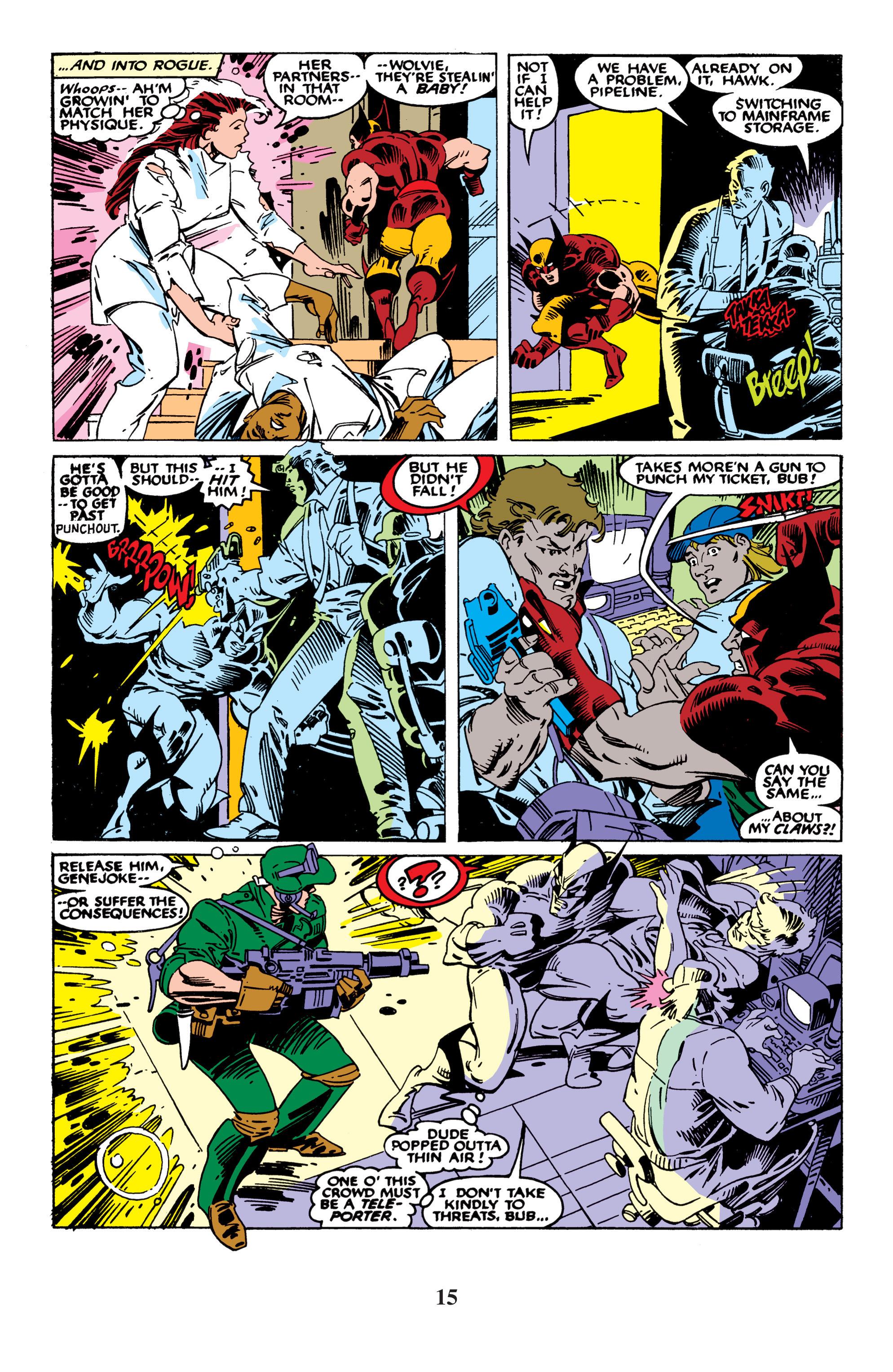 Read online Uncanny X-Men (1963) comic -  Issue #235 - 15